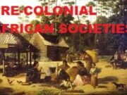 Characteristics Of Pre Colonial Education