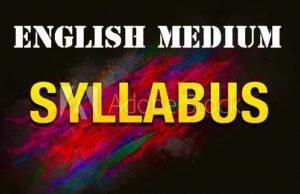 Syllabuses For Primary Education - English Medium Schools