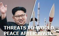 THREATS TO WORLD PEACE