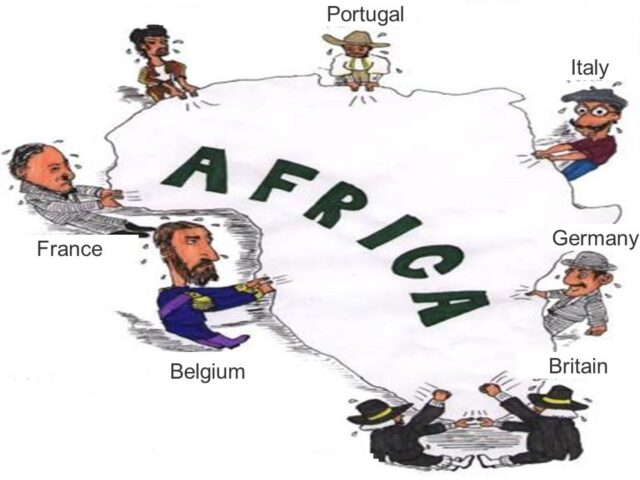 Why some areas in Africa experienced more intensive scramble than others?