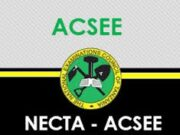 PAST PAPERS FORM SIX ACSEE