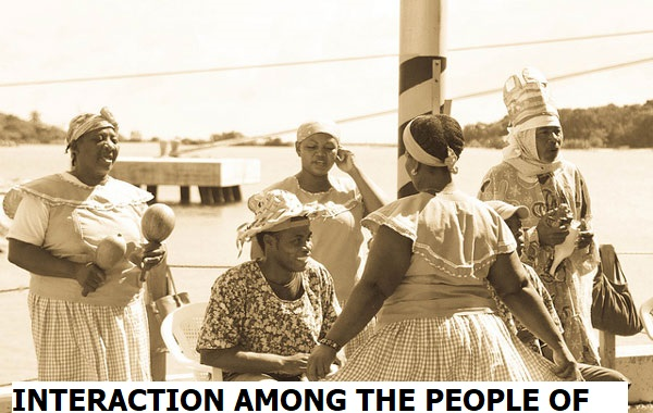 INTERACTION AMONG THE PEOPLE OF AFRICA