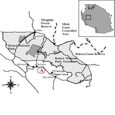 Katavi N Park 1 Map