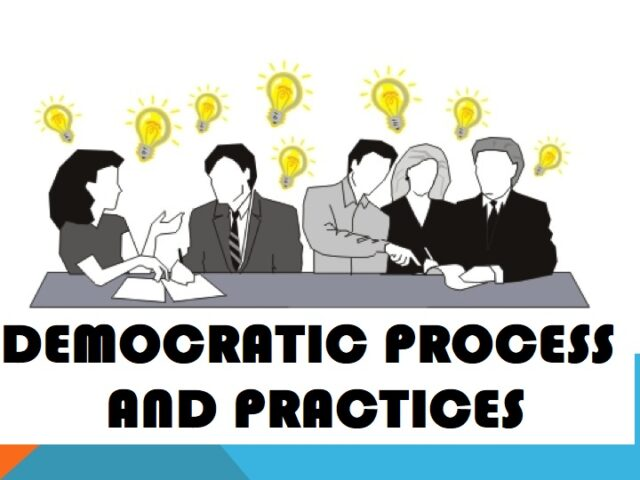 DEMOCRATIC PROCESS AND ELECTIONS