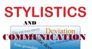 STYLISTICS AND COMMUNICATION