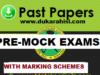 Pre-Mock Examinations