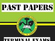 Terminal Examinations