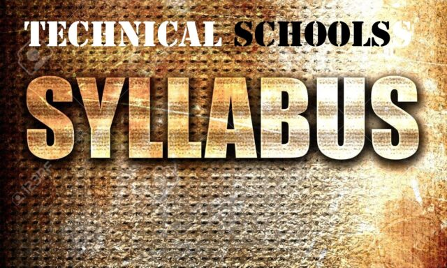 Syllabus for Technical Secondary School Education ~ Form I-IV