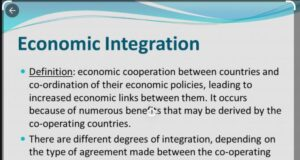 ECONOMIC INTEGRATION AND COOPERATION