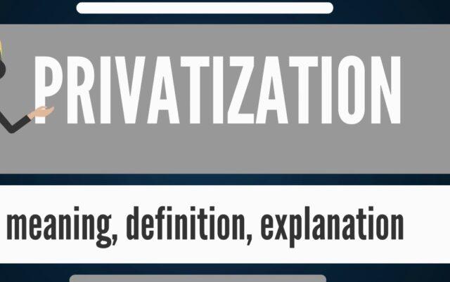 TOPIC 10: PRIVATIZATION ~ ECONOMICS FORM 5