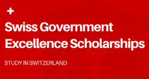 Swiss Government Excellence Scholarships
